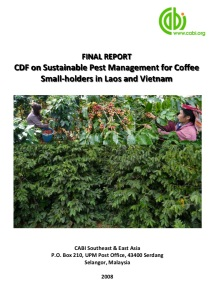 Coffee Pest Management Laos and Vietnam