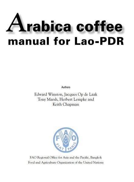 Thumb - FAO Lao Arabica Manual